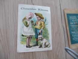 Chromo Ancien Chocolat Klaus Amoureux Enfants Chasse Chien Dog - Altri