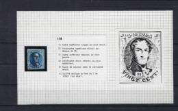 N°7 (plaat III Positie 119) GESTEMPELD MET 4 MARGES SUPERBE - 1851-1857 Médaillons (6/8)