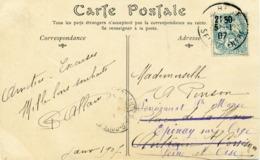 Carte Postale Allain 1907 C.A. 19 Avec Signature C. Allain - Francia