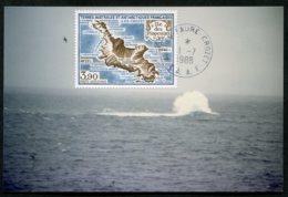 15514 T.A.A.F  PA100° 3F90 L'île Aux Pingouins. Le Brisant De Tamaris  Crozet  Du 1.7.1988   TB - Brieven En Documenten