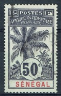 Senegal (French Colony), 50c., Palmtree 1906, VFU - Used Stamps