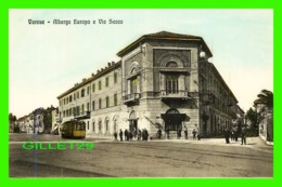 VARESE, ITALIA - ALBERGO EUROPA E VIA SACCO - WELL ANIMATED -  FOTOTIPIA ALTEROCCA - - Varese