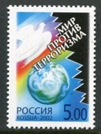 RUSSIA 2002 World Against Terrorism MNH / **.  Michel 959 - 1992-.... Federación