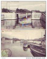LAEKEN = 2 Cp = Pont Sur Le Canal = Photo L. Collin - Laeken