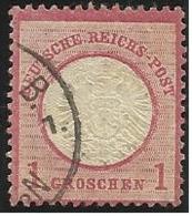 Allemagne N° 16 Oblitéré De 1872 - Germania