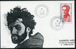 15524 T.A.A.F  N°134° 3F40 Hommage à Robert Gessain (1907-1986) Terre Adélie  Du 11.12.1993   TB - Cartas