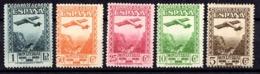 Espagne Poste Aérienne YT N° 90/94 Neufs *. B/TB. A Saisir! - Luftpost