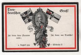 5319, Feldpost, Kaiser Wilhelm II - Guerra 1914-18