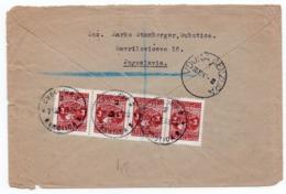 21.12.1945. YUGOSLAVIA, SERBIA, REGISTERED LETTER, SUBOTICA TO LONDON, UK, MILITARY COVER, CENSORED - 1945-1992 Repubblica Socialista Federale Di Jugoslavia