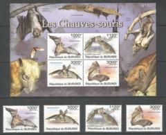 BURUNDI - MNH - Animals - Bats - Bats