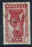 Senegal (French Colony), 1f., African Woman, 1939, VFU - Used Stamps