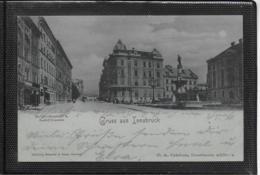 AK 0358  Gruss Aus Innsbruck - Mondschein-Litho Um 1899 - Innsbruck