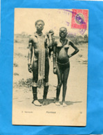 East Africa And Uganda-MOMBASA- Couple-kavirando-femme Seins Nus-gros Plan-a Voyagé En 1906- - Oeganda