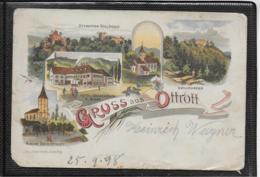 AK 0358  Gruss Aus Ottrott - Lithographie / Bahnpost Um 1898 - Elsass