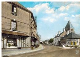 Nouan Le Fuzelier; Relais Solognot Et Grande Rue, Garage Renault, Pompes à Essence - Altri Comuni