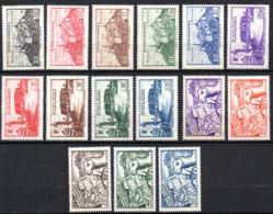 Col17  Colonie Fezzan N° 28 à 42 Neuf XX MNH Cote 25,00€ - Neufs