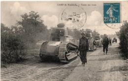 Tanks Renault Au Camp De Mailly 1922 - Oblitération Mailly Militaire Aube - Cavalerie - Ausrüstung