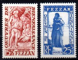 Col17  Colonie Fezzan N° 54 & 55 Neuf XX MNH Cote 9,00€ - Neufs