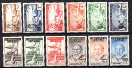 Col17  Colonie Fezzan N° 56 à 67 Neuf XX MNH Cote 60,00€ - Neufs