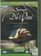 Dvd Jeu Interactif  THE SECRET OF DA VINCI LEONARD   Jouez Sur Votre TV  Etat: TTB    Port 110 Gr - Electronic Games