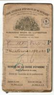Belgique-België Livret D'Epargne/Spaarboekje CGER Enregistré à COUILLET 1898 à 1925 - Oblitérations Couillet - Charleroi - Belgien