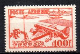 Col17  Colonie Fezzan PA N° 4 Neuf XX MNH Cote 10,00€ - Neufs