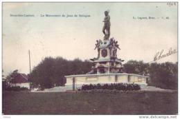 LAEKEN = Monument De Jean De Bologne (Lagaert N° 42 - Couleur) 1908 - Laeken