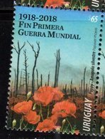 URUGUAY, 2018, MNH,WWI, END OF WWI, 1v - WW1
