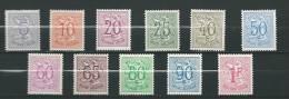 Zegels 849 - 859 ** Postfris - Unused Stamps