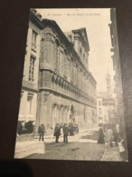 Leuven - Louvain -  Rue De Namur Et Les Halles - Gebruikt Als Feldpost-karte 1914-1918 - Leuven