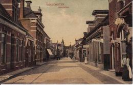 243919Winschoten, Boschstraat 1909 (Vleeschhouwer A. Brouwer) (Links Boven Kreukels, Zie Achterkant) - Winschoten