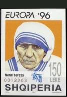 Albania 1998 MNH S/S OVP Italia, Mother Teresa, Nobel Peace Prize Winner - Mutter Teresa