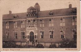 243946Winschoten, Hoogere Burgerschool 1932 (zie Hoekjes) - Winschoten