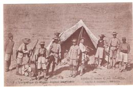 Cpa L'armee De L'inde Un Groupe De Malais Devant Leur Tente   Ecrite 1915  Ed:marseille   -D- - War 1914-18