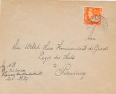 Nederlands Indië - 1937 - 12,5 Cent Wilhelmina Op Cover Van LB SAPAROEA Naar Leger Des Heils Te Bandoeng - Nederlands-Indië