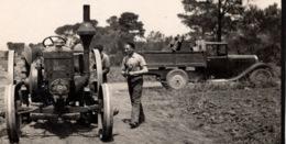 Algerie 1932 Tracteur BOULLDOG LANZ Photo 8x11cm Ouvrier Agricole Camion - Automobiles