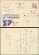 Publibel 1953 - 2F Voyagée - Thématique Cote Belge - Plage (DD) DC4531 - Entiers Postaux