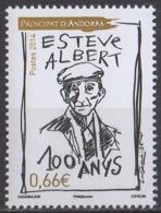 ANDORRE - Centenaire De La Naissance D'Estève Albert - French Andorra