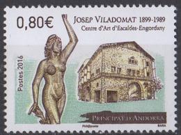 ANDORRE - Centre D'art D'Escaldes-Engordany - French Andorra