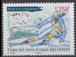 ANDORRE - Coupe Du Monde De Ski Féminin - French Andorra