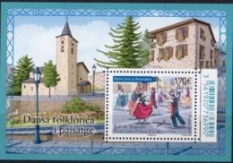 ANDORRE - Danse Folklorique Et Paysage 2017 - French Andorra