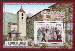 ANDORRE - Danse Folklorique Et Paysege 2015 - French Andorra