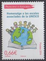 ANDORRE - Hommage Aux écoles Partenaires De L'UNESCO - French Andorra