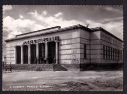 AUGUSTA (SR) - Poste E Telegrafi - F/G - V: 1954 - S/B - Altre Città