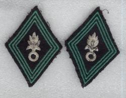 Insignes D'épaule Armée Française - Légion étrangère - Equipaggiamento