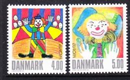 Europa Cept  2002 Denmark 2v ** Mnh (45185E) - 2002