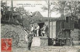 CPA Salies-de-Béarn 64. A La Saline. Expédition Du Sel. Animée - Salies De Bearn