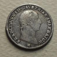 1823 - Italie Etat - Italy State - Lombardie - Lombardy - Venetia - 1/4 LIRA, (M), Argent, Silver, C 4.2 - Italia