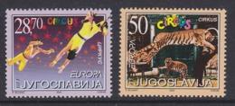 Europa Cept 2002 Yugoslavia 2v ** Mnh (45185F) ROCK BOTTOM PRICE - 2002