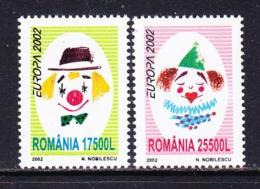 Europa Cept 2002 Romania 2v  ** Mnh (45185h) ROCK BOTTOM PRICE !!!! - 2002